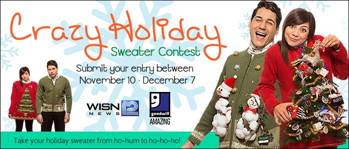 Crazy Holiday Sweater Contest
