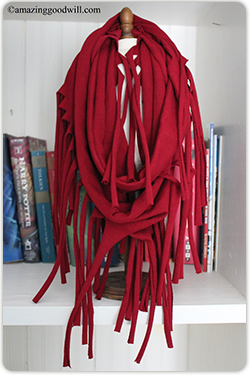 Tie on a scarf!