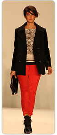Rebecca Minkoff - bright-red pants
