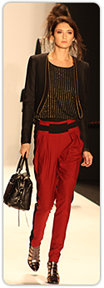 Rebecca Minkoff - reddish-orange slacks