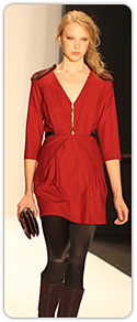 Rebecca Minkoff - red, day dress