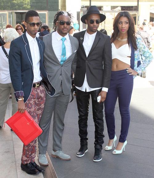 Street Stylin' at Fashion Week