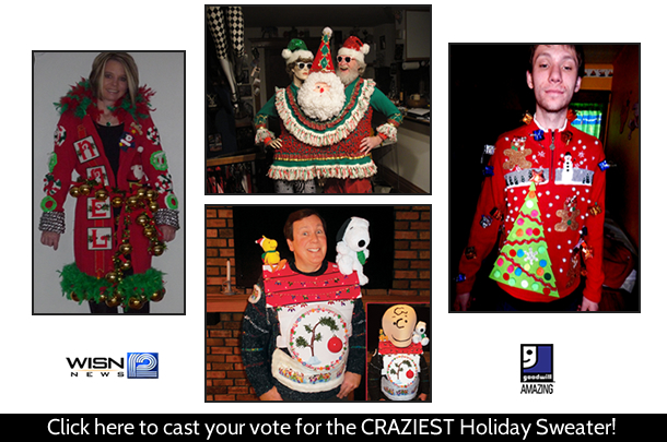 Crazy Holiday Sweater Finalists