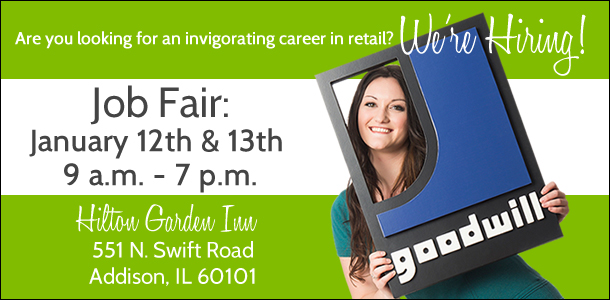 Goodwill Job Fair in Addison, IL