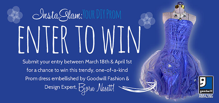 InstaGlam: Your DIY Prom Dress Giveaway!