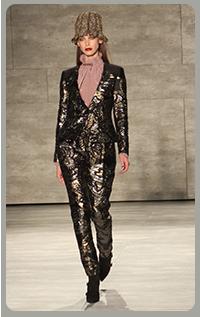 brocade pant suit