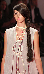 Hair and makeup - side braid