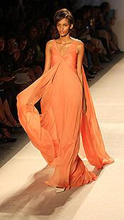 peach orange color