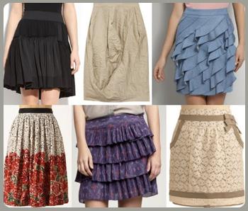 ruffle skirts