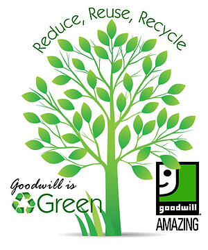 Goodwill recycling green organization in wisconsin and for Is goodwill a non profit organization