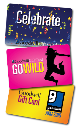 Buy Goodwill gift cards