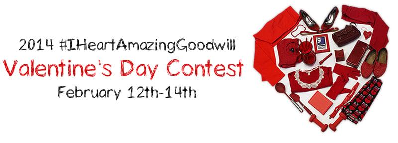#IHeartAmazingGoodwill Valentine's Day Contest