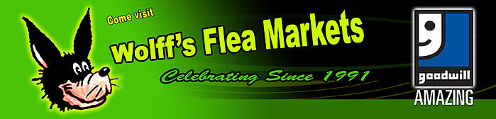 Goodwill partners with Wolff's Flea Market