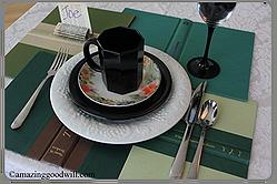 Book Club Table Setting