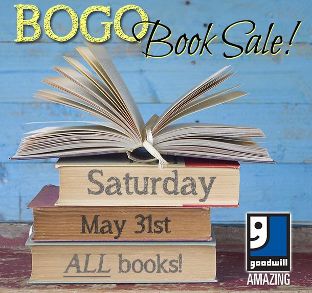BOGO book sale