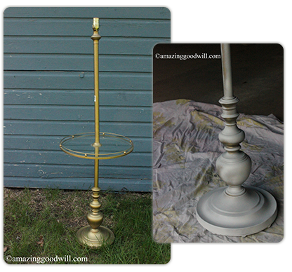 lamp table transformation