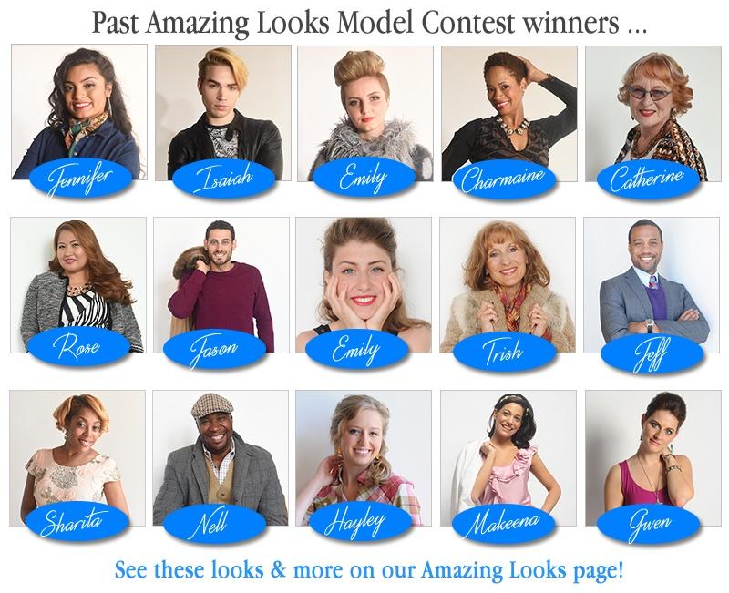 Amazing Looks Model Contest Winners