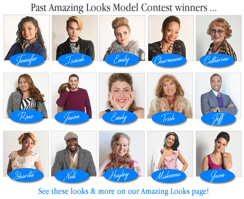 Amazing Looks Model Contest Winners