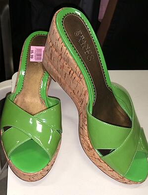 Find spring green colors at Goodwill!