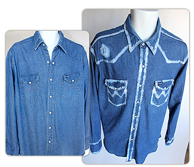 distressed denim shirts