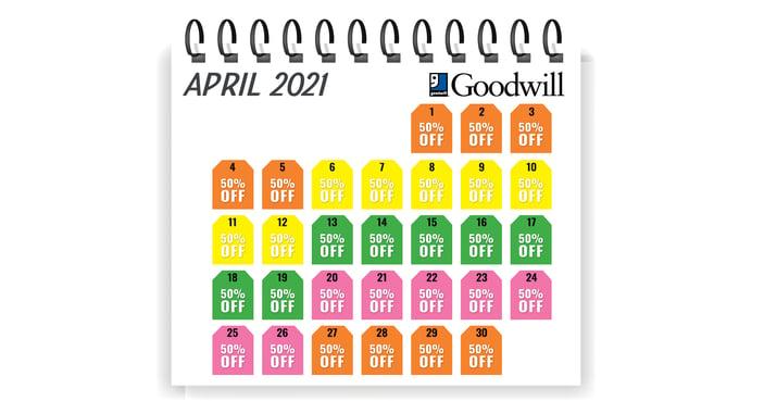 Calendar for Tag Sale_Apr21