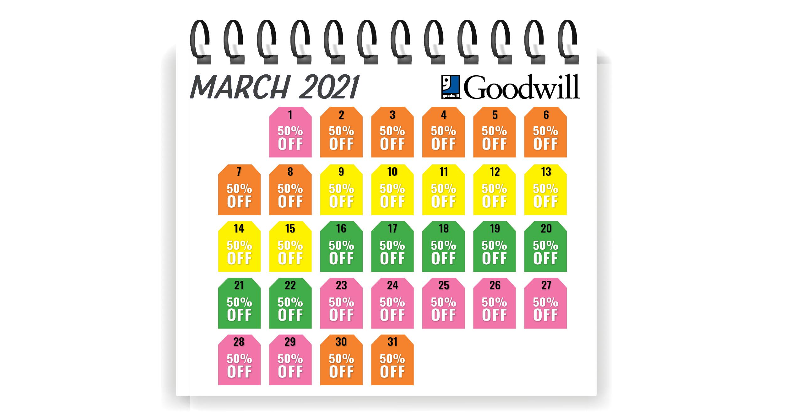 Calendar for Tag Sale_Mar21