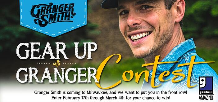 Win Tickets to See Granger Smith in Milwaukee!
