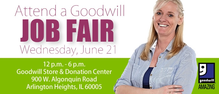 Attend a Goodwill Job Fair in Arlington Heights