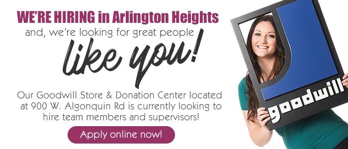 We're hiring in Arlington-South!