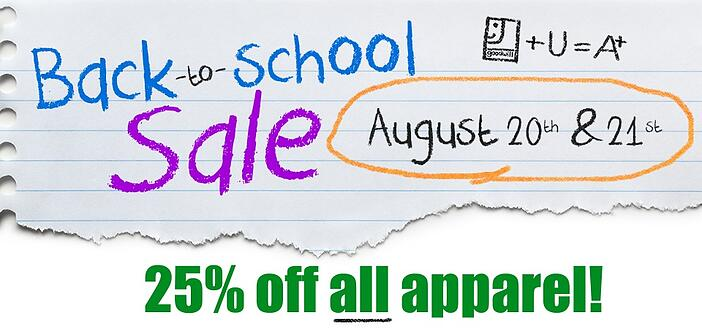 Goodwill Back-to-School Sale