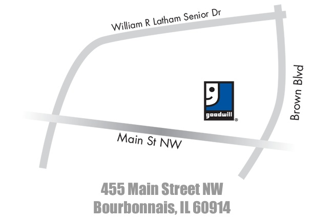 Goodwill Store and Donation Center in Bourbonnais
