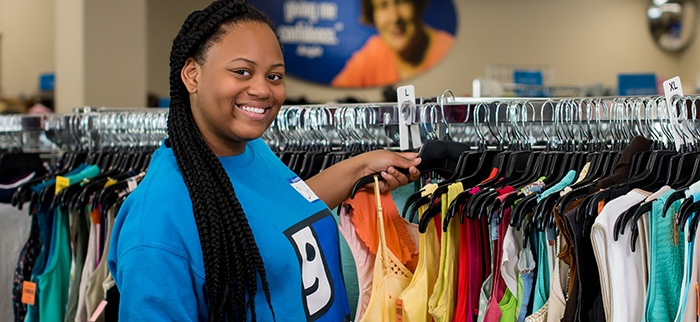 Thank you for supporting Goodwill's mission!