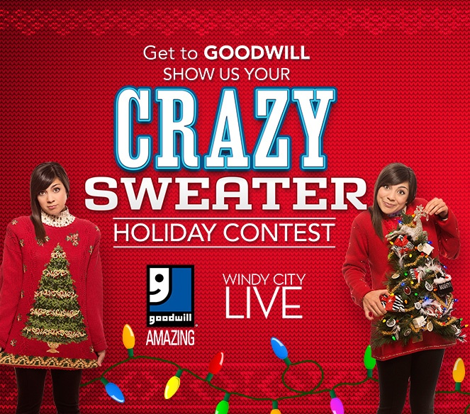 Goodwill Crazy Holiday Sweater Contest