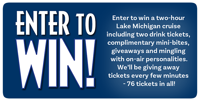 Enter to win a two-hour Shake the Lake cruise!