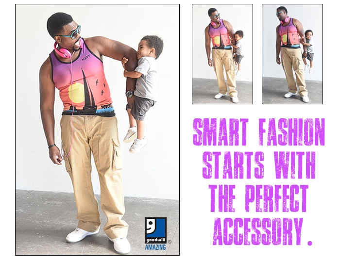Smart fashion starts at Goodwill!