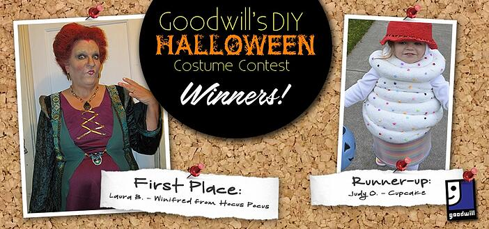 Goodwill's 2016 DIY Halloween Costume Contest Winners