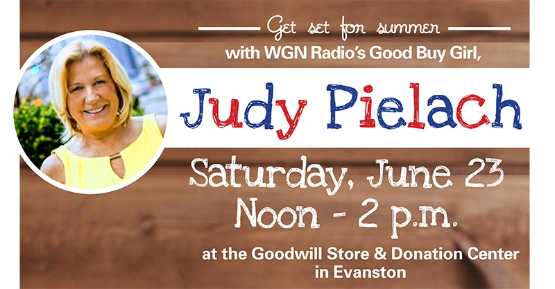 Get set for summer with Goodwill and Judy Pielach