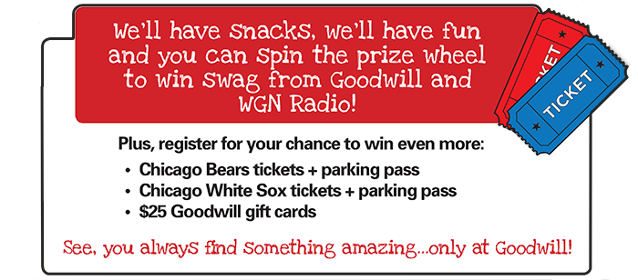 Register for your chance to win prizes!