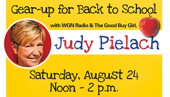 Gear-up for Back to School with Good Buy Girl, Judy Pielach!