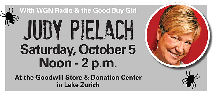 Have Some Halloween Fun in Lake Zurich with Judy Pielach!