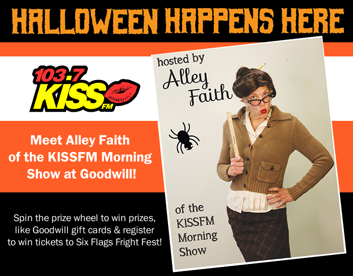 Get Ready for Halloween with Alley Faith of KISS FM