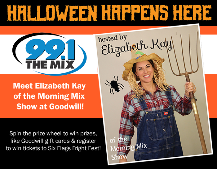 Get Ready for Halloween with Elizabeth Kay of 99.1 The MIX