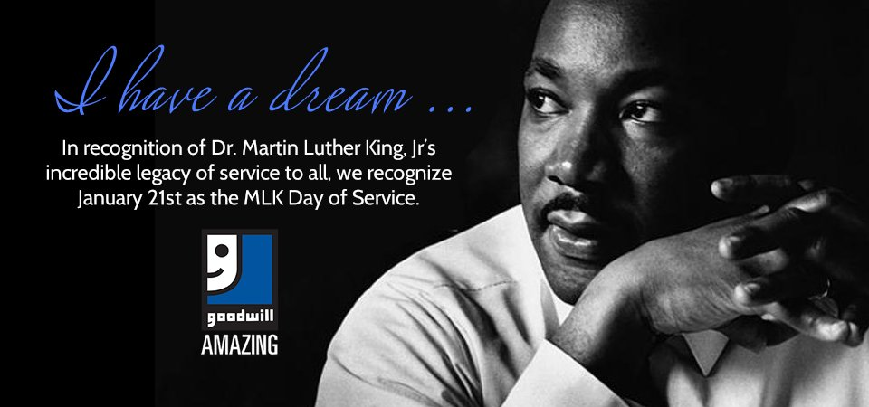 Goodwill observes MLK Day of Service