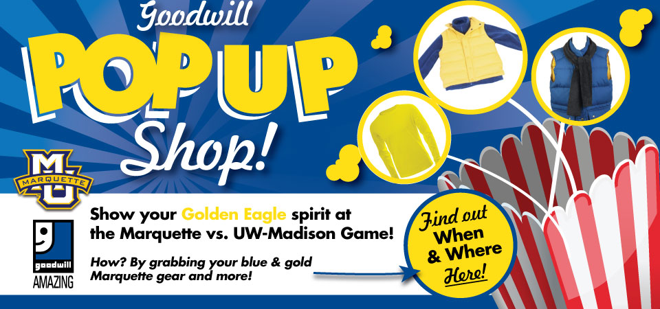 Goodwill Pop-up Shop at Marquette