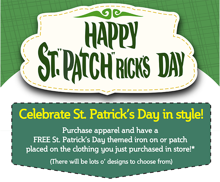 Celebrate St. Patrick's Day with Goodwill