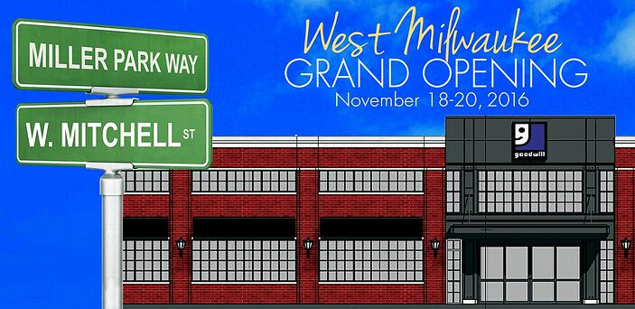Goodwill West Milwaukee Grand Opening