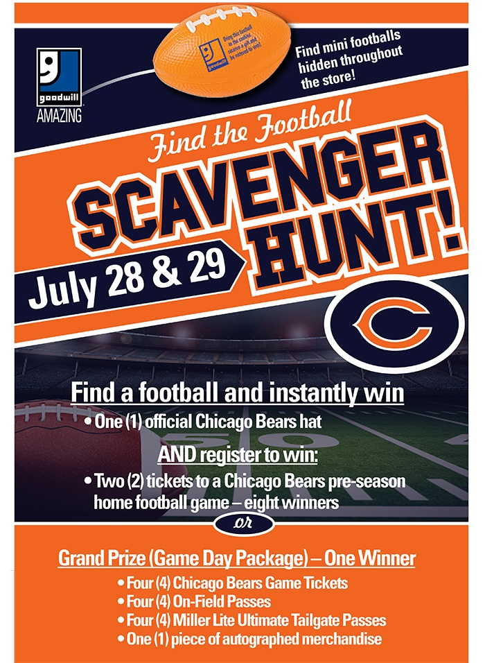 Find the Football Scavenger Hunt