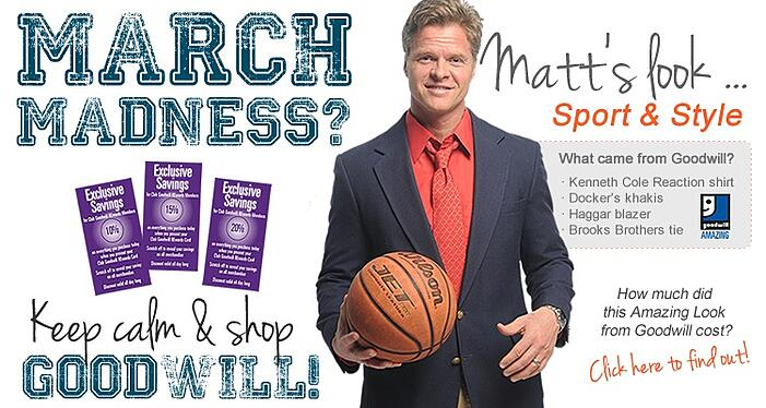 It's March Madness at Goodwill!