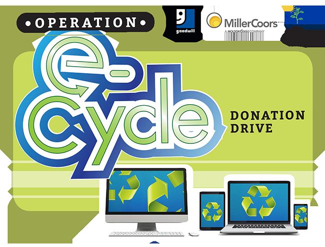 Operation E-Cycle Donation Drive