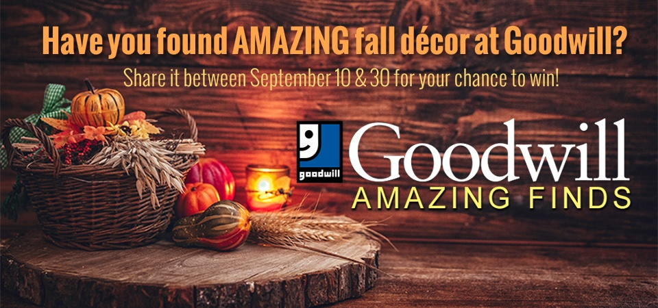 CBS58 and Goodwill Amazing Finds Fall Decor Contest